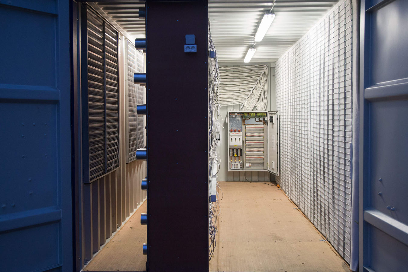 cryptocurrency mining shipping container